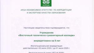 Международная аккредитация